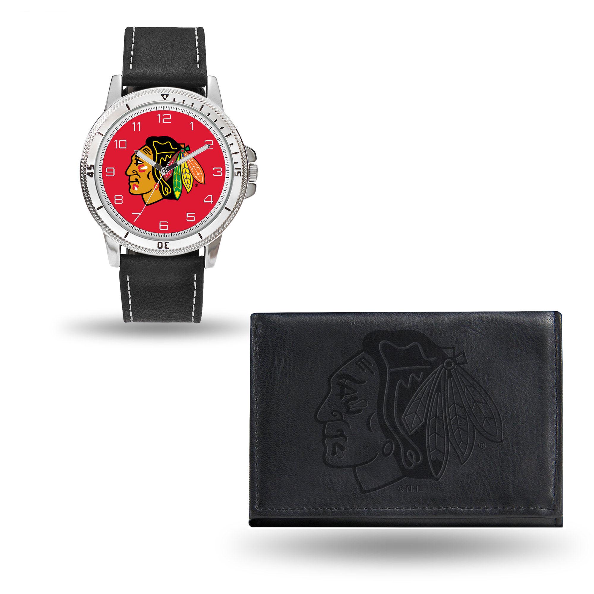 Set hodinky a peněženka Chicago Blackhawks NHL Sparo Distribuce: USA