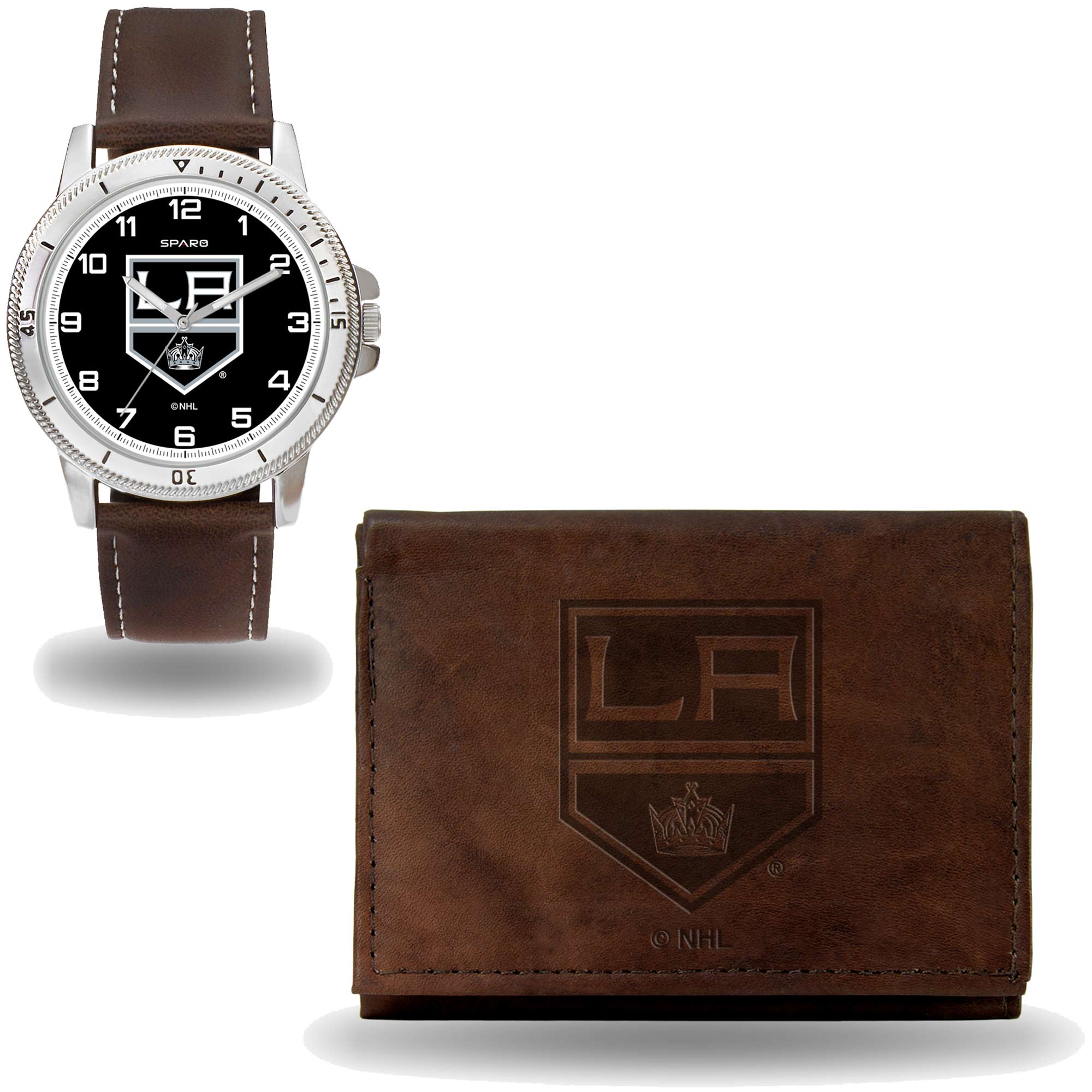 Set hodinky a peněženka Los Angeles Kings NHL Sparo Distribuce: USA