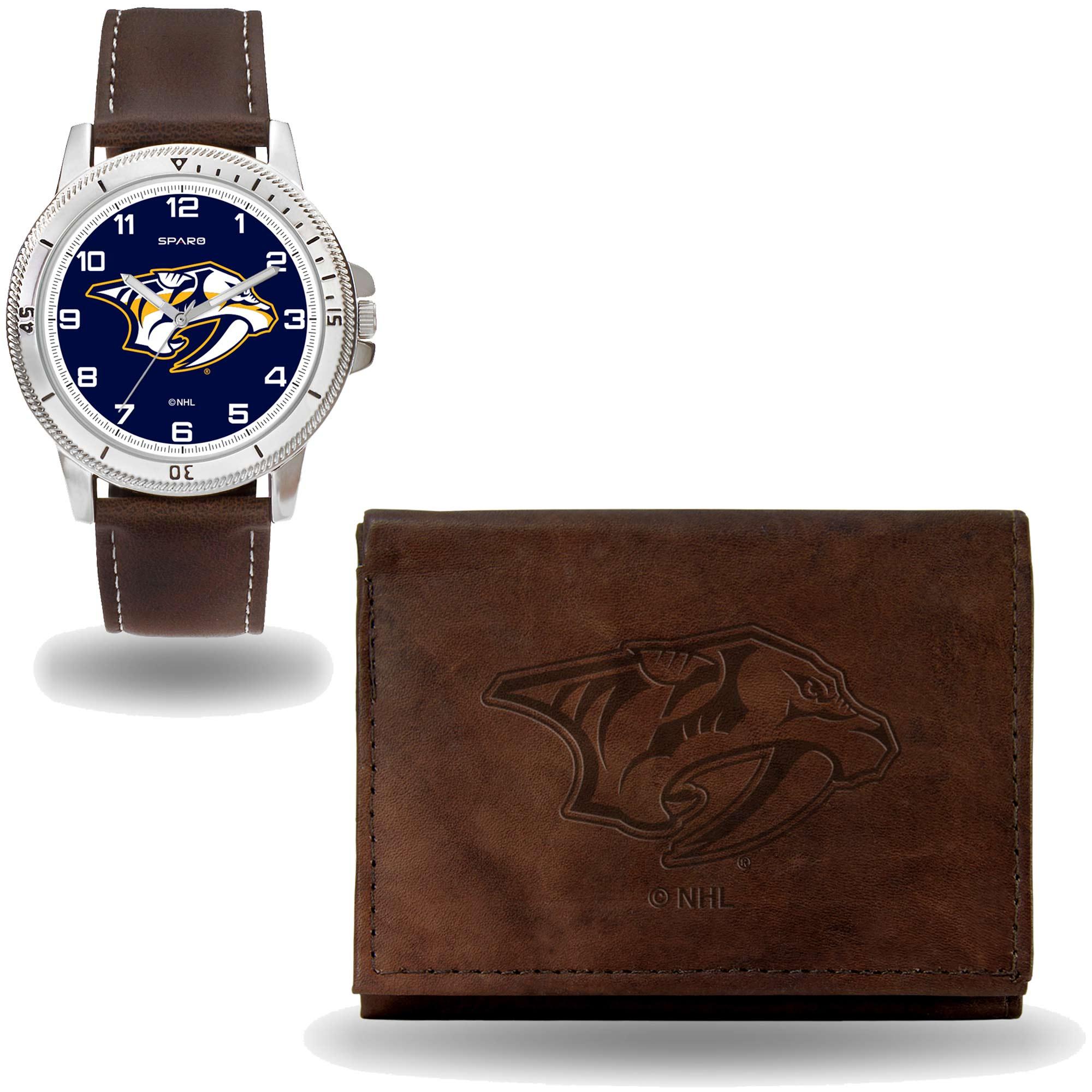 Set hodinky a peněženka Nashville Predators NHL Sparo Distribuce: USA