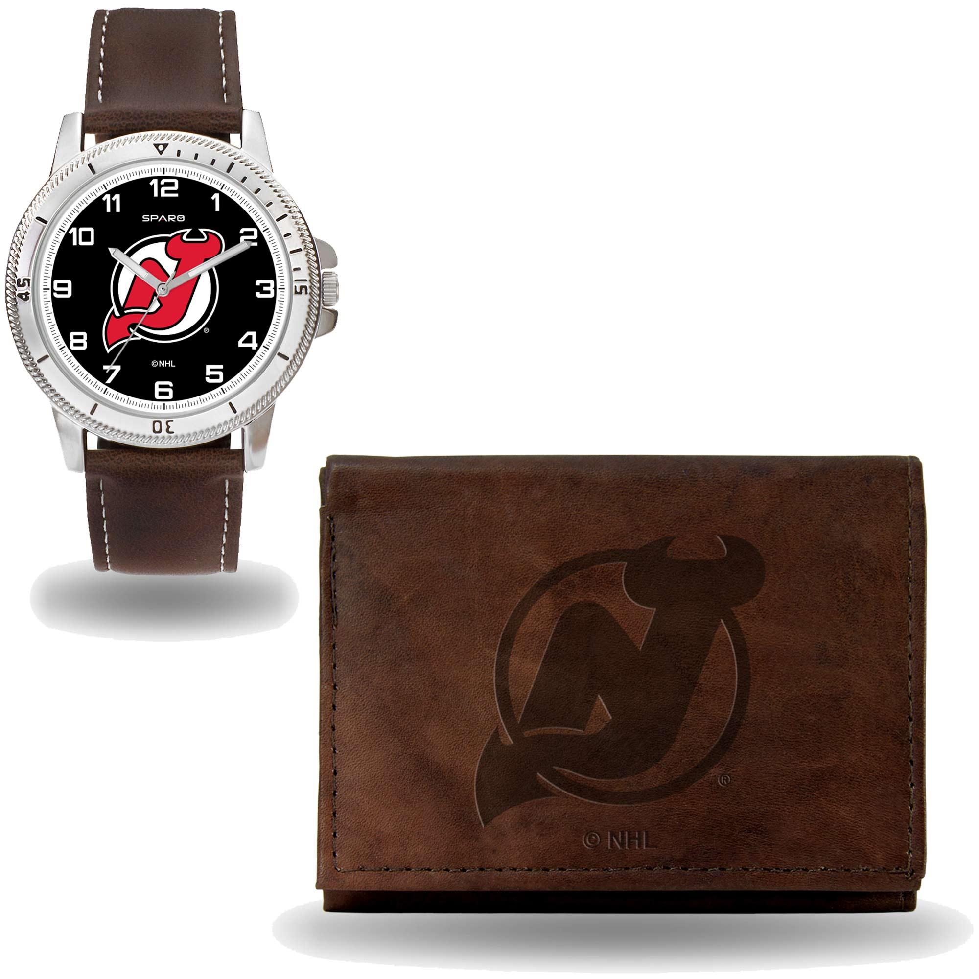 Set hodinky a peněženka New Jersey Devils NHL Sparo Distribuce: USA