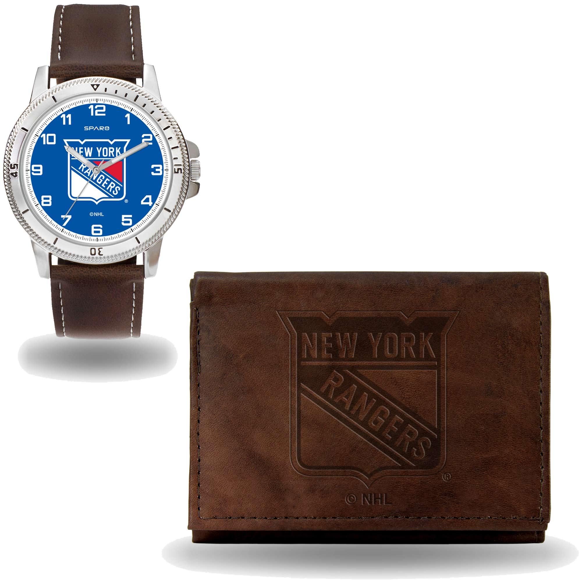 Set hodinky a peněženka New York Rangers NHL Sparo Distribuce: USA