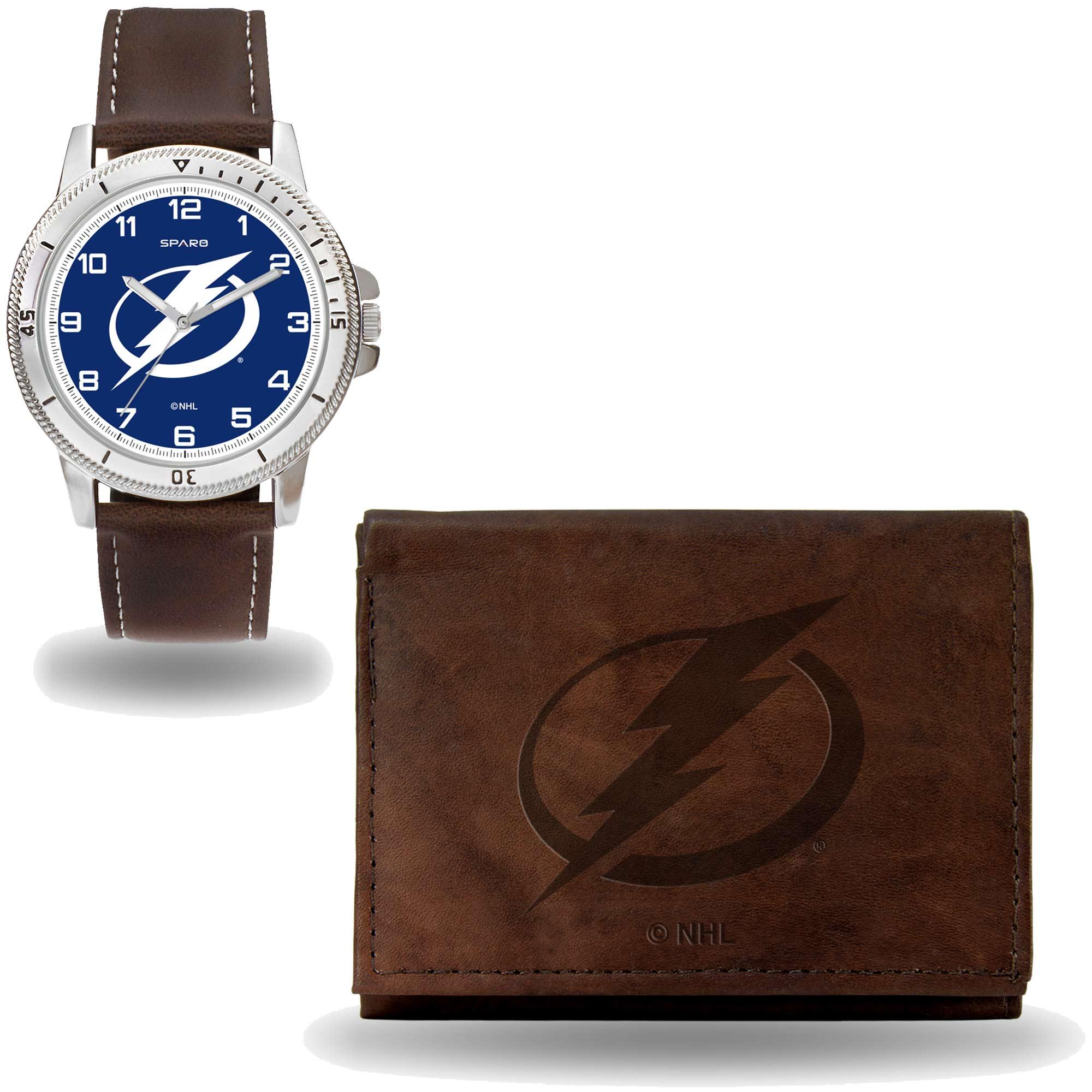 Set hodinky a peněženka Tampa Bay Lightning NHL Sparo Distribuce: USA
