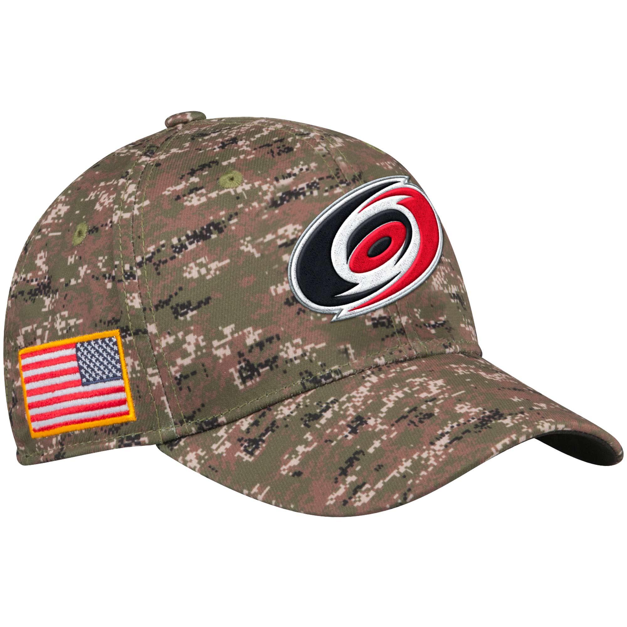Adidas Kšiltovka Carolina Hurricanes NHL Team Flex Camo Velikost: S/M, Distribuce: USA