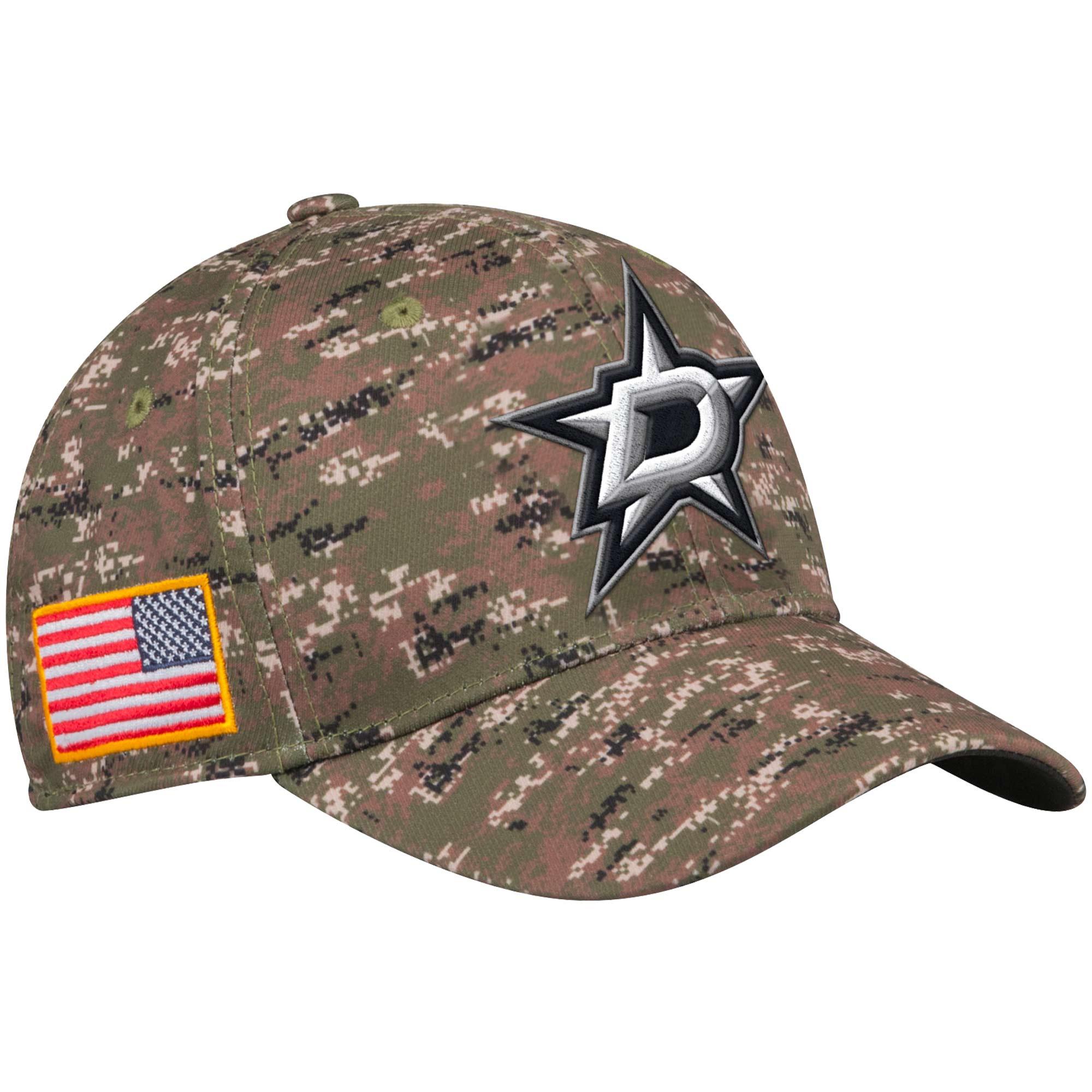 Adidas Kšiltovka Dallas Stars NHL Team Flex Camo Velikost: S/M, Distribuce: USA