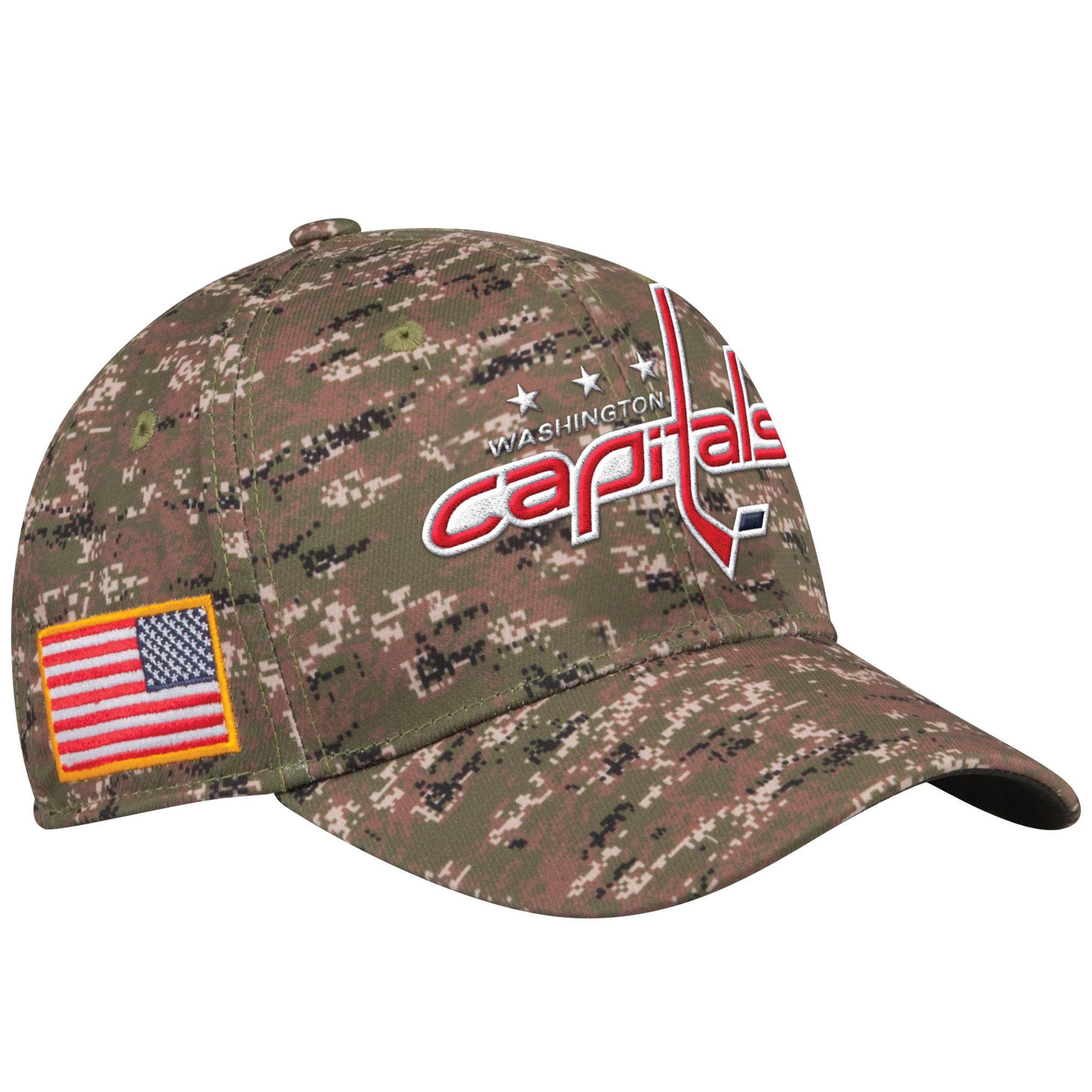 Adidas Kšiltovka Washington Capitals NHL Team Flex Camo Velikost: S/M, Distribuce: USA