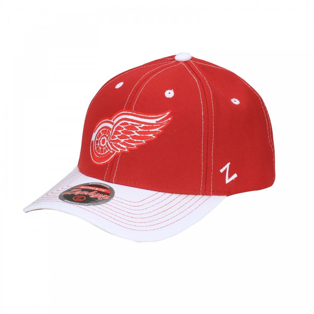 Zephyr Kšiltovka Detroit Red Wings NHL Staple Adjustable
