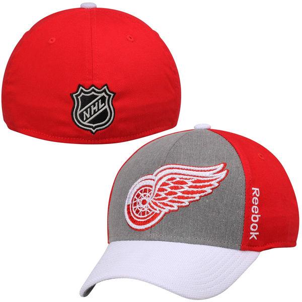 Reebok Kšiltovka Detroit Red Wings Travel & Training Tri-Blend Flex Hat Velikost: S/M